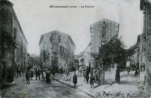 La Placette in the old days